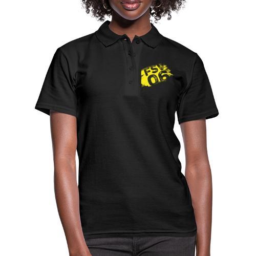 Hildburghausen FSV 06 Graffiti gelb - Frauen Polo Shirt