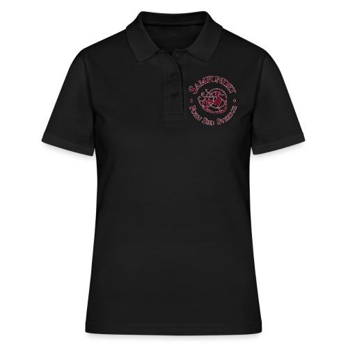 Runhunden rund liten - Women's Polo Shirt