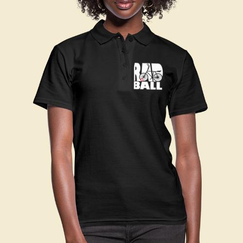 Radball | Typo - Frauen Polo Shirt