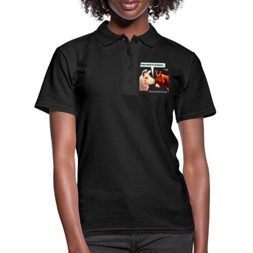 PROTEGETE BURRO - Frauen Polo Shirt