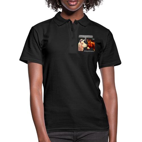 Protect Yourself Donkey - Coronavirus - Women's Polo Shirt