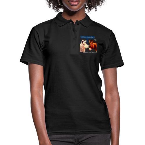 PROTEGEZ-VOUS L'ÂNE !! - Coronavirus - Frauen Polo Shirt