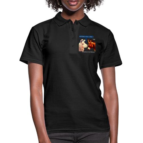 PROTEGEZ-VOUS L'ÂNE !! - Coronavirus - Camiseta polo mujer