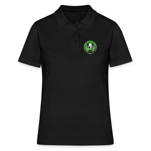 Rigormortiz Metallic Green Design - Women's Polo Shirt