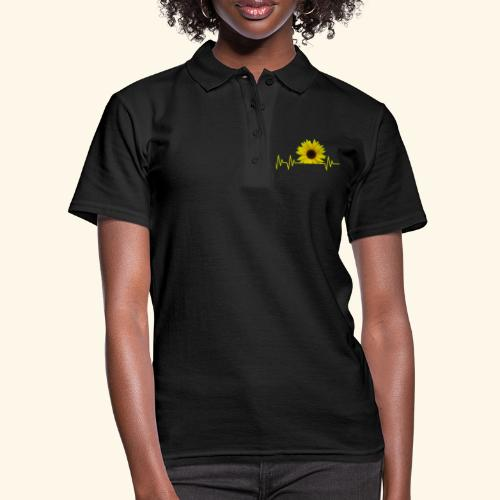 sunflowerbeat - zauberhafte Sonnenblume - Frauen Polo Shirt