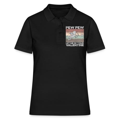 Let me be your valentine Geschenk Liebe - Frauen Polo Shirt