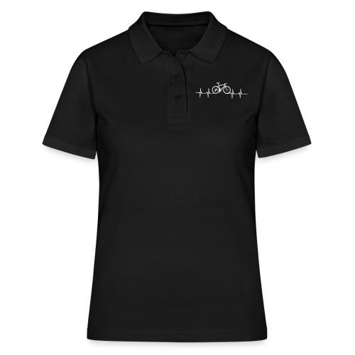 Cycologist Fahrradfahrer Fahrrad Retro - Frauen Polo Shirt