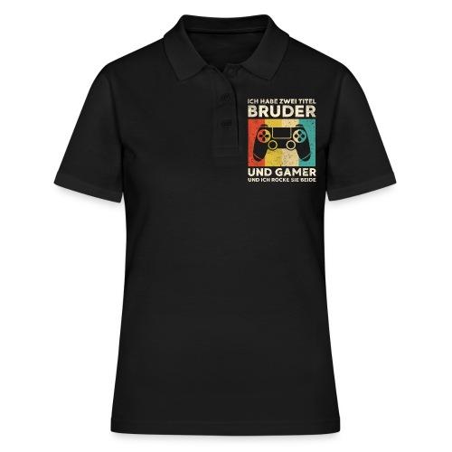 Bruder Gamer Gaming Junge Geschenk Sohn - Frauen Polo Shirt