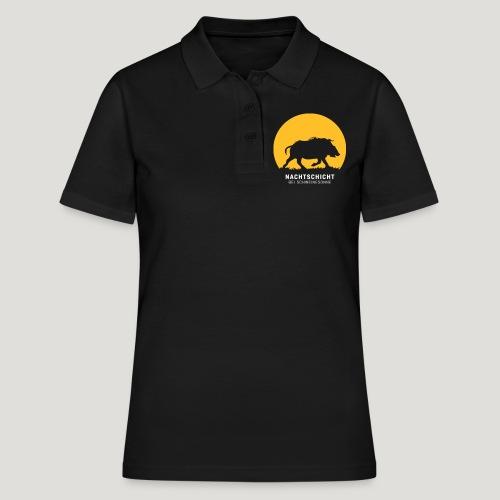 Nachtschicht bei Schweinesonne! Jäger Shirt Jaeger - Frauen Polo Shirt
