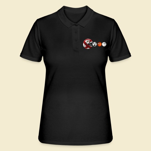 Radball | Cycle Ball RedMan - Frauen Polo Shirt