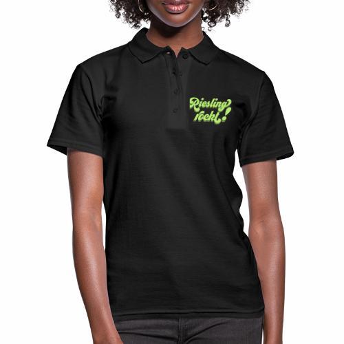 Riesling rockt - Frauen Polo Shirt