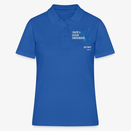 Clear Conscience - Women's Polo Shirt