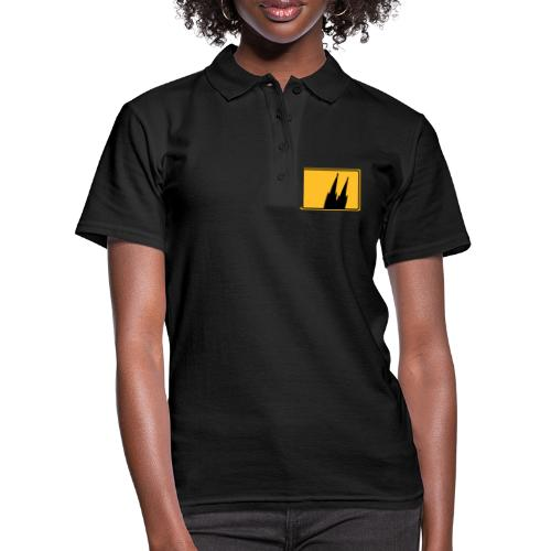 Kölner Dom Köln Ortsschild - Frauen Polo Shirt