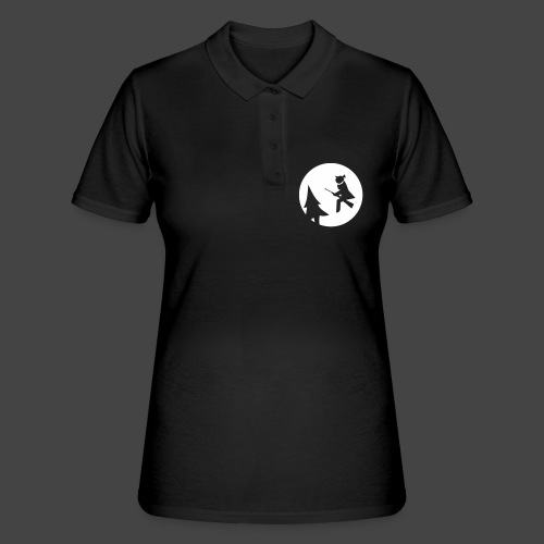 Jagdhexe in der Nachtschicht bei Schweinesonne - Frauen Polo Shirt