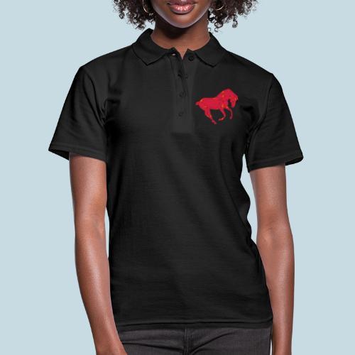Horse Harlekin - Frauen Polo Shirt
