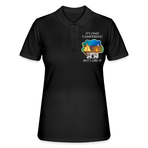 To tylko campering, ale to lubię - Women's Polo Shirt