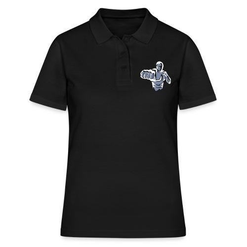Krav Maga Blanko Brust - Frauen Polo Shirt