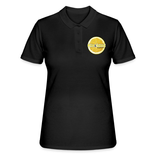 'Bitter And Twisted' Lemon Slice - Women's Polo Shirt