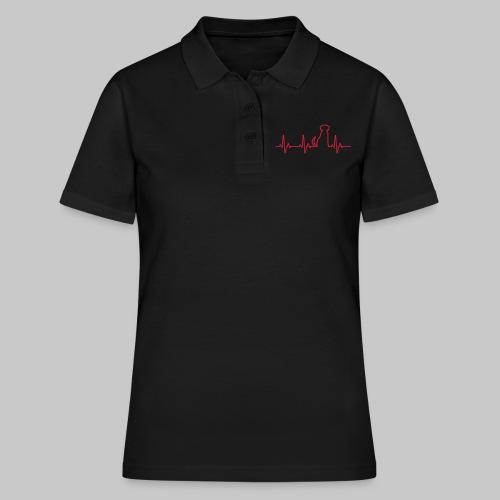 Hunde Herz - Frauen Polo Shirt