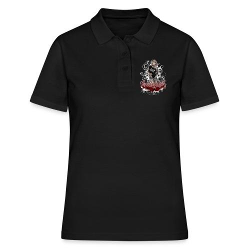 Sandra 1 - Frauen Polo Shirt