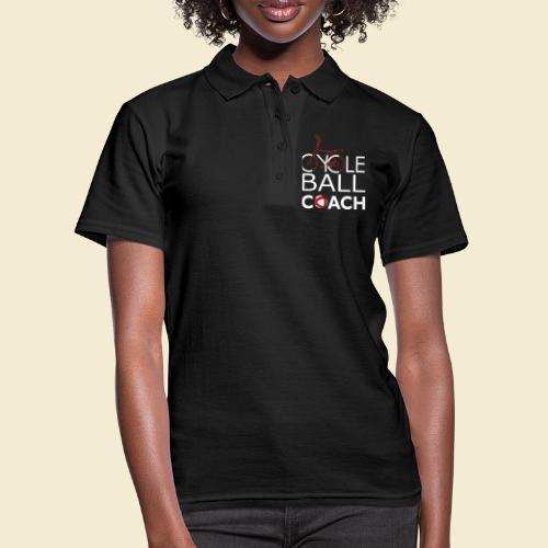 Radball | Cycle Ball Coach - Frauen Polo Shirt