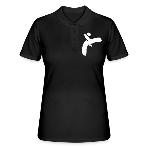 Martial Arts Kick - Slhouette Minimal Wushu Kungfu - Women's Polo Shirt