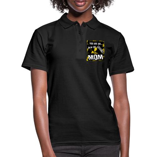 you re a un BEE Lievable mom - Frauen Polo Shirt