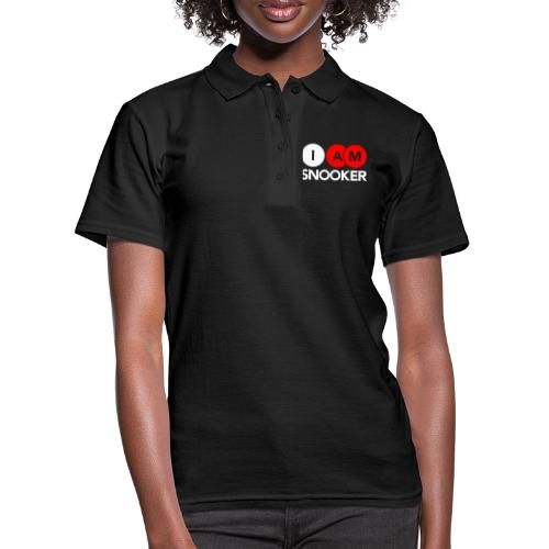 I AM SNOOKER - Women's Polo Shirt
