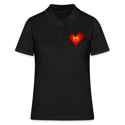 Ein Herz in Liebe - Frauen Polo Shirt