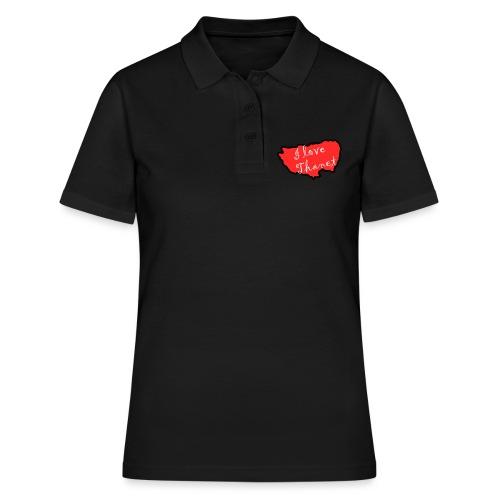 I Love Thanet - Women's Polo Shirt