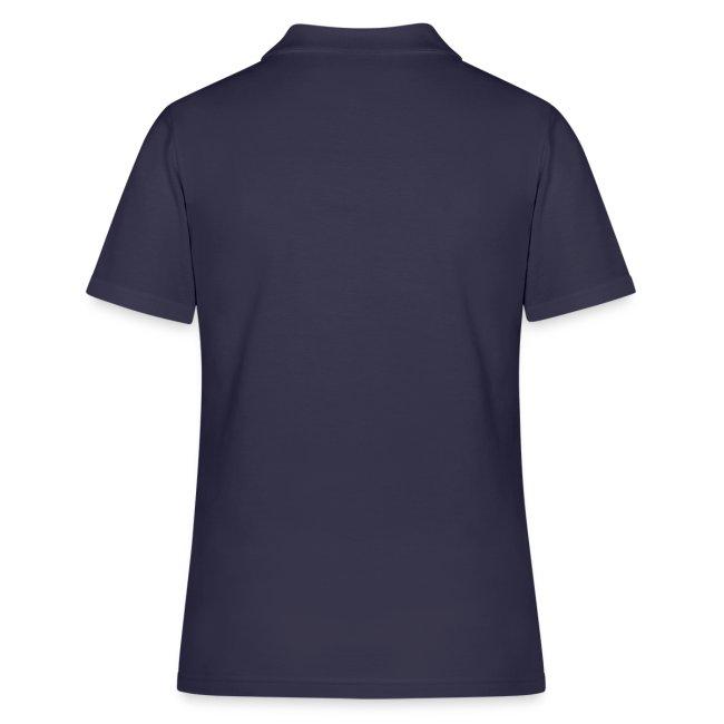 Vorschau: simple woman beer white - Frauen Polo Shirt