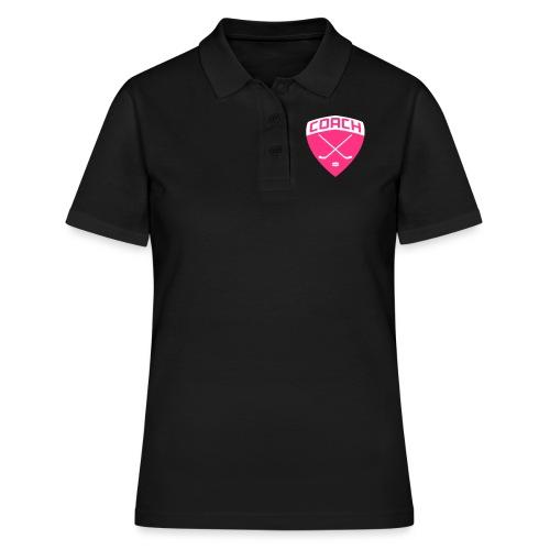 Ice Hockey Coach - Women's Polo Shirt
