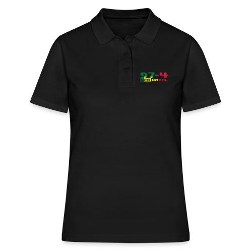 Logo 974 ker kreol VJR, rastafari - Women's Polo Shirt