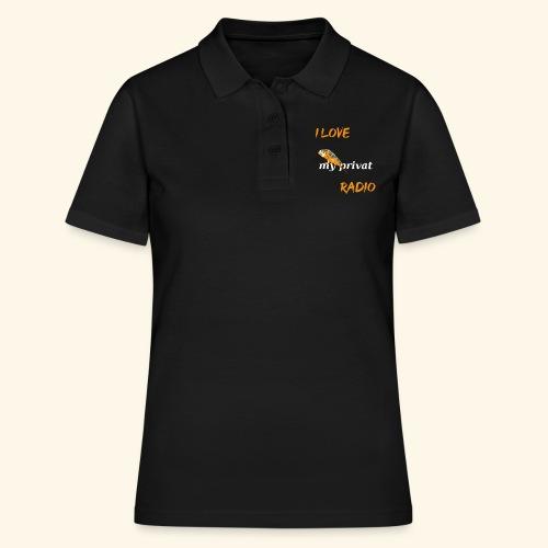 Wellensittich mein privates Radio - Frauen Polo Shirt