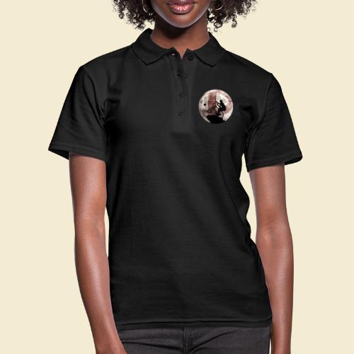 Radball | Cycle Ball Moon - Frauen Polo Shirt