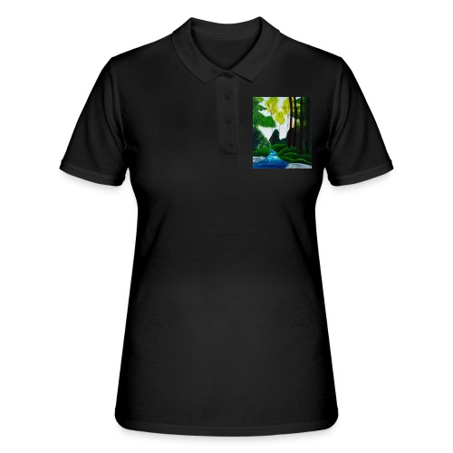 Wilder Bach - Frauen Polo Shirt