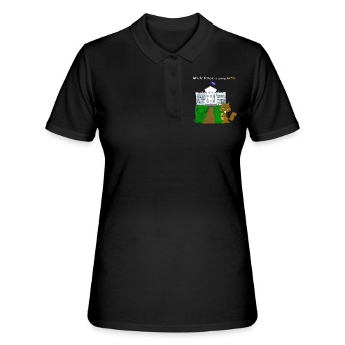 White House going NUTS - Frauen Polo Shirt