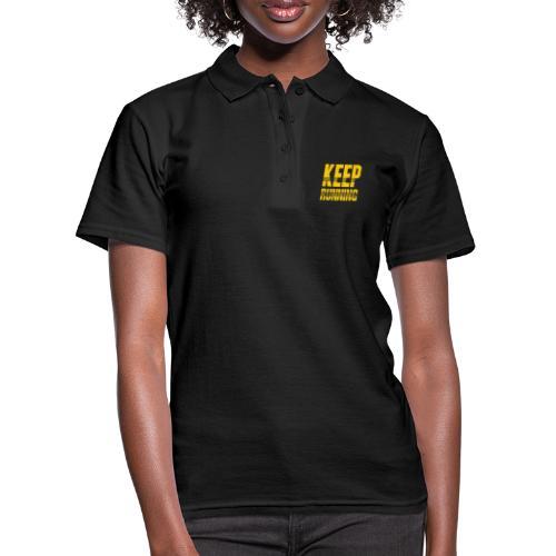Keep running - Frauen Polo Shirt