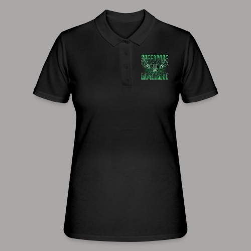 Mattia Travaglini - SCWW Green 3D - Frauen Polo Shirt