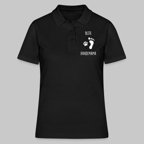 Beste Hundemama - Frauen Polo Shirt