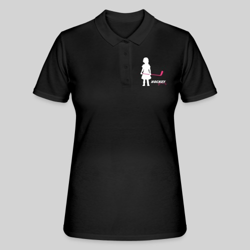 Hockey Girl I - Frauen Polo Shirt