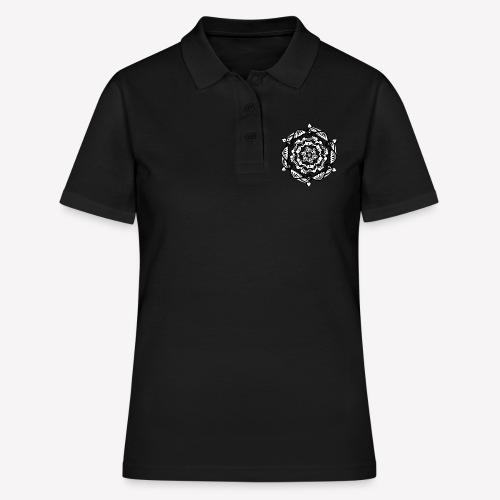 Mandala Flower - Frauen Polo Shirt