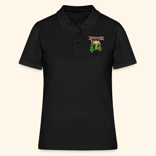 Wellensittich Chor Sittichhausen Weihnachtskonzert - Frauen Polo Shirt