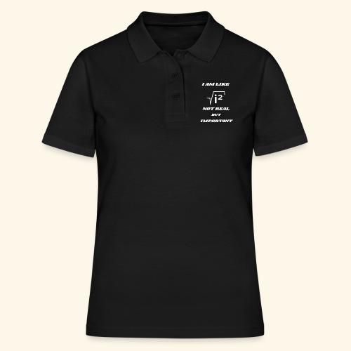 Wurzel i zum Quadrat nicht real - Frauen Polo Shirt