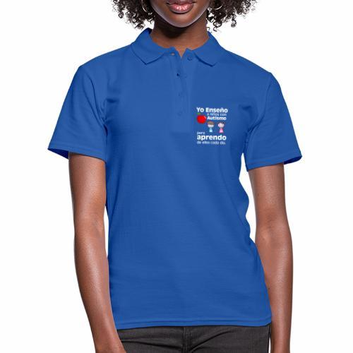 Yo aprendo del Autismo - Camiseta polo mujer
