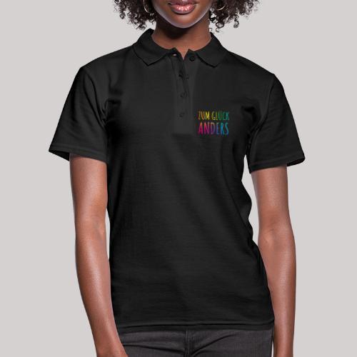 Zum Glück anders - Frauen Polo Shirt