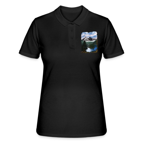Mystic Mountain - Frauen Polo Shirt