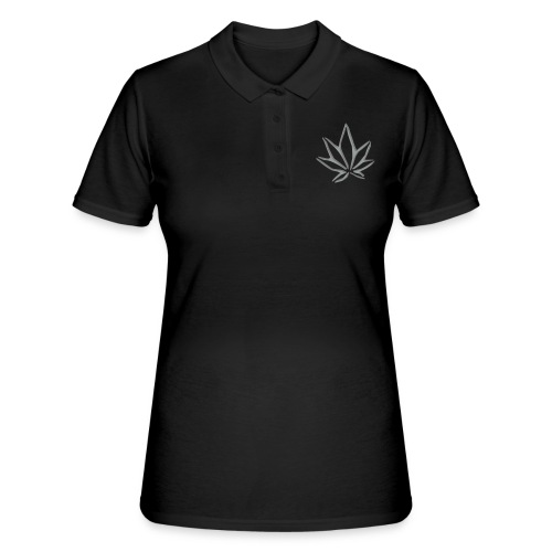 Hanfblatt #3 - 2farbig - Frauen Polo Shirt