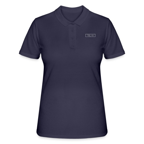 Trilain - Box Logo T - Shirt Black - Women's Polo Shirt