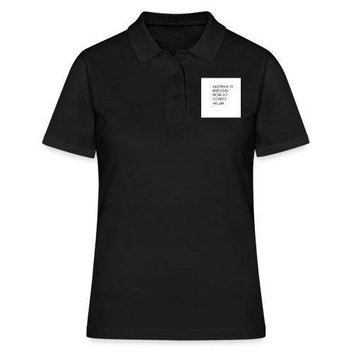 MA NON SAI LEGGERE????? - Women's Polo Shirt